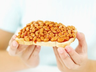 Beans cooked with baking soda