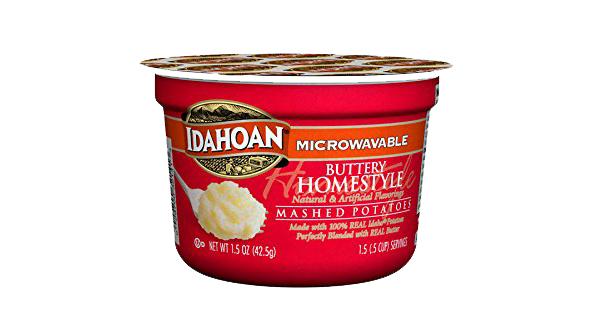 single serve mashed potatoes