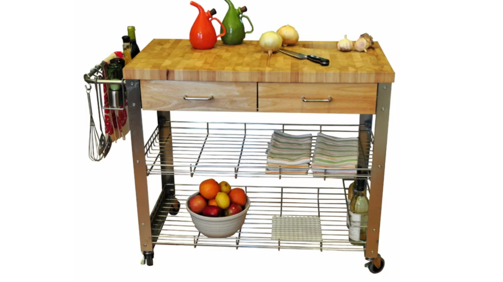 The Best Kitchen Island Carts To Give Your Kitchen An Instant Upgrade