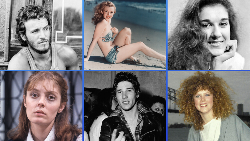 photos of celebrities before they were famous
