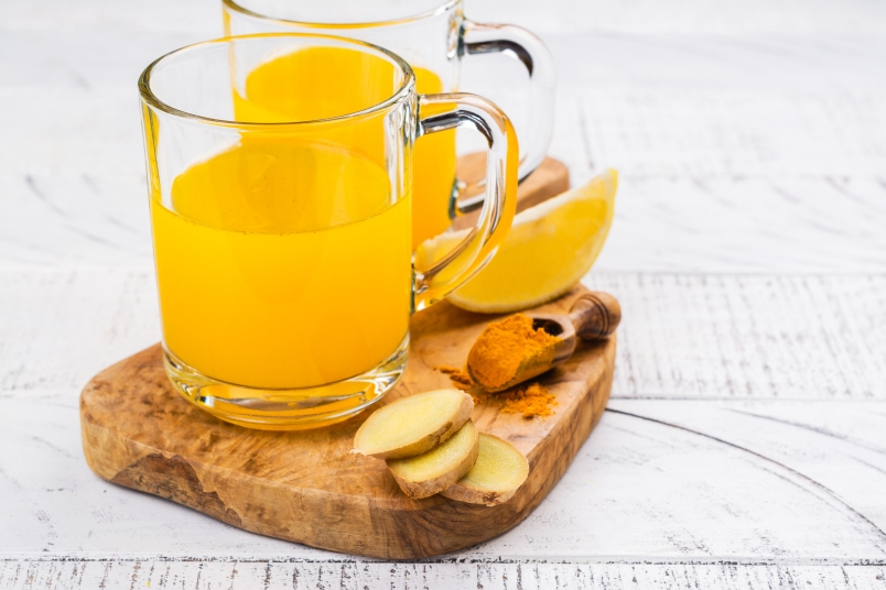 Turmeric Ginger Tea for Weight Loss