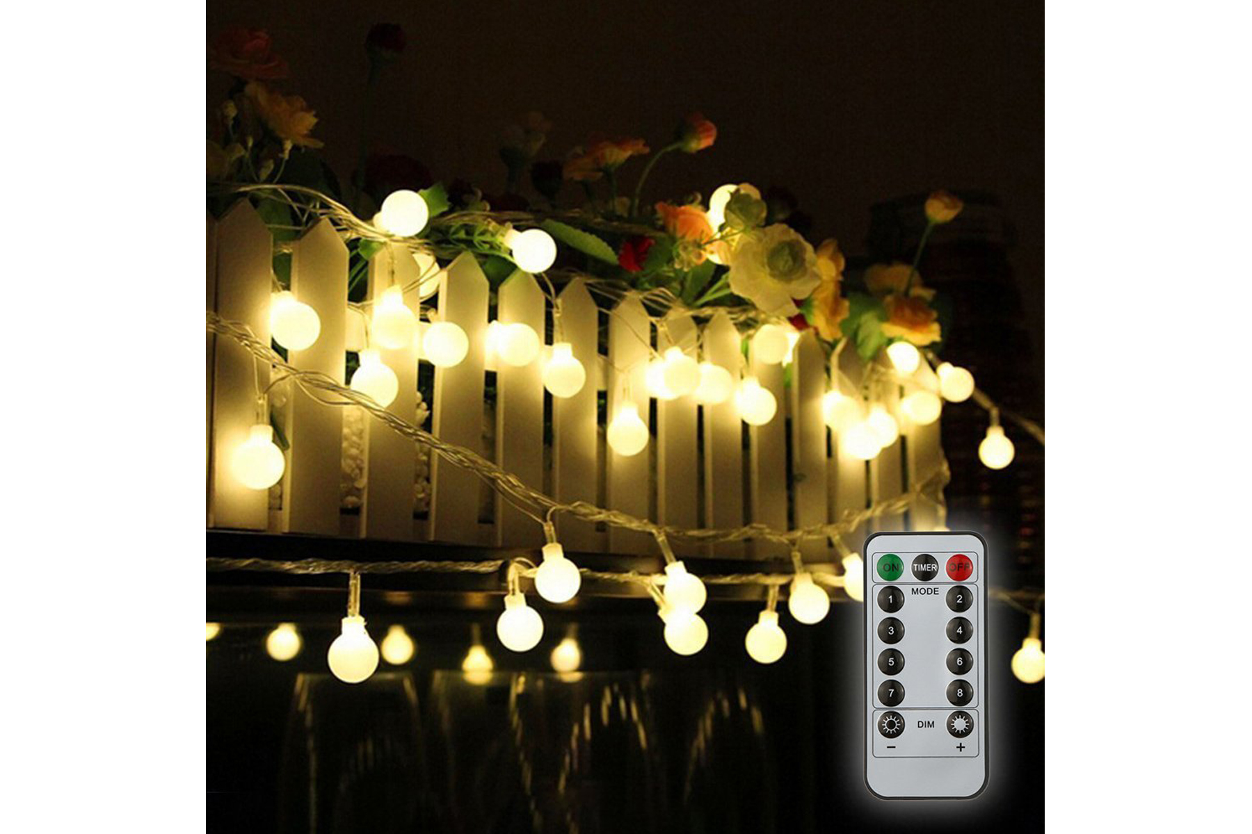 Picture of: 10 Best Outdoor String Lights 2019