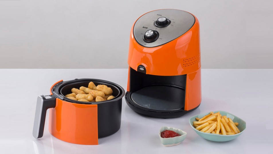 air fryer and french fries
