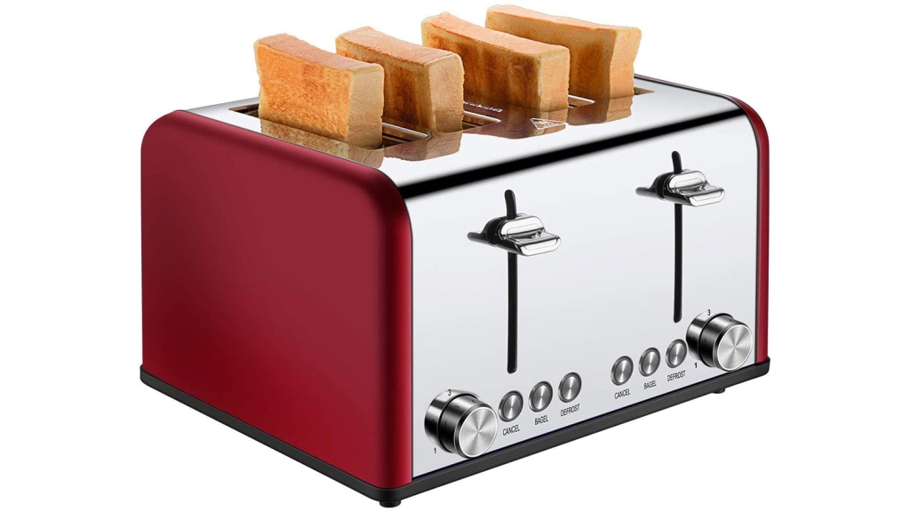 cuisibox 4 slice toaster