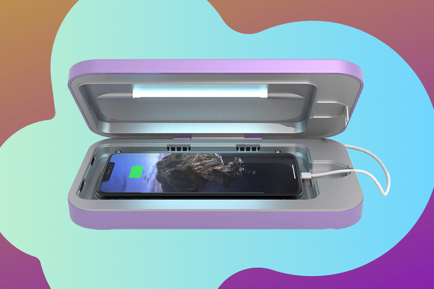 This Genius Phone Sanitizer Case Will Rid Your Device of Germs