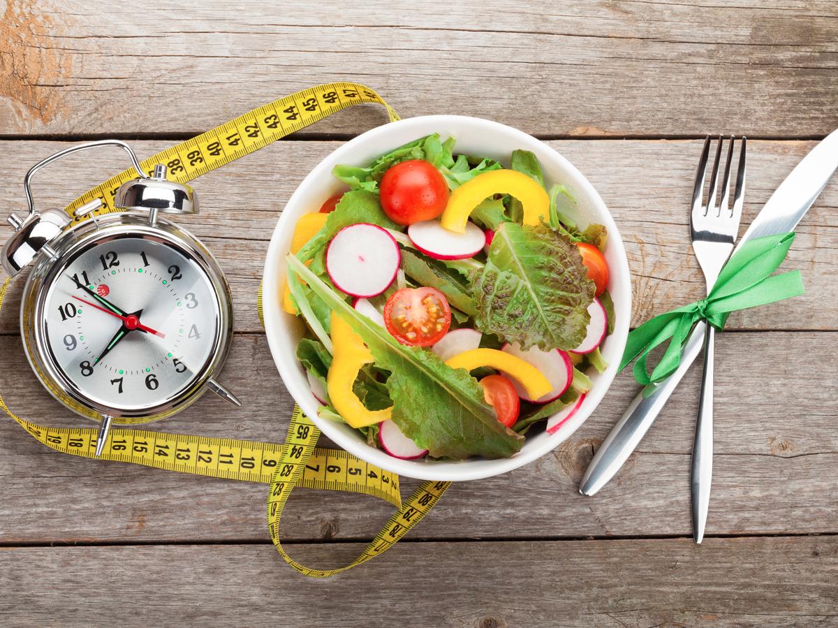 Здоровое похудение режим питания
