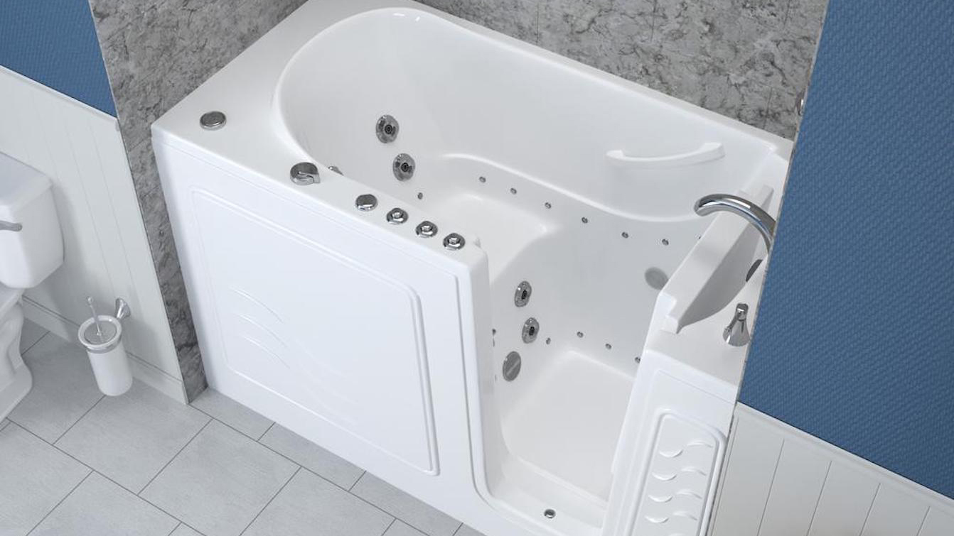 7 of the Best Walk-In Tubs for Seniors That Help Reduce Bath Injuries