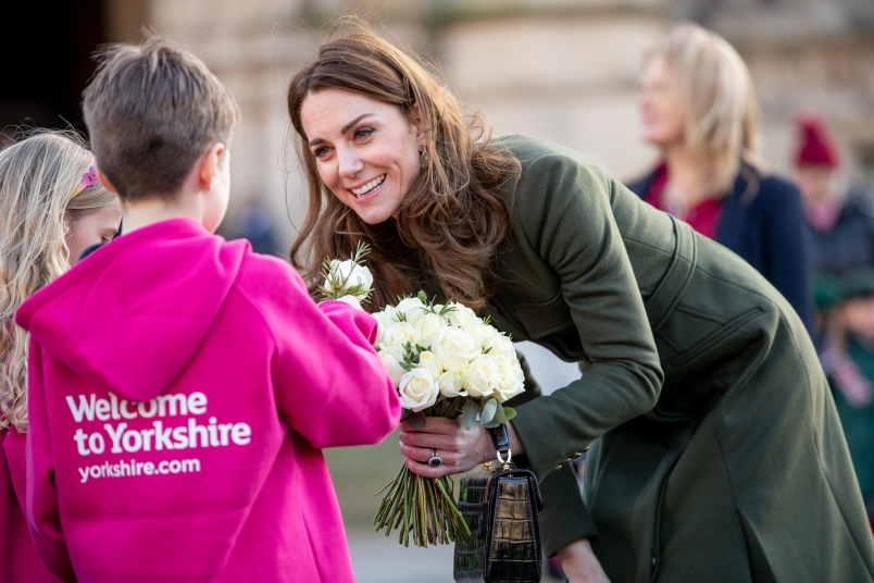 Kate Middleton Reveals Whether She and Prince William Will Have Another Baby - First For Women