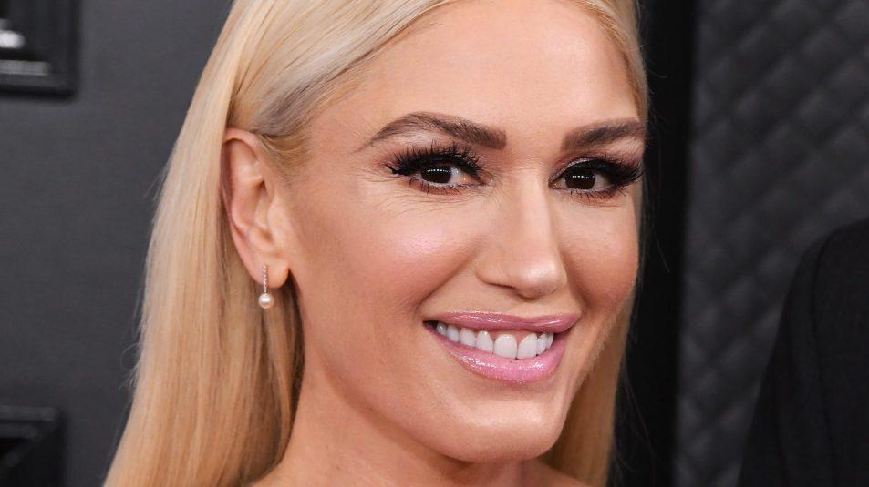 Gwen stefani close-up 62nd Grammys