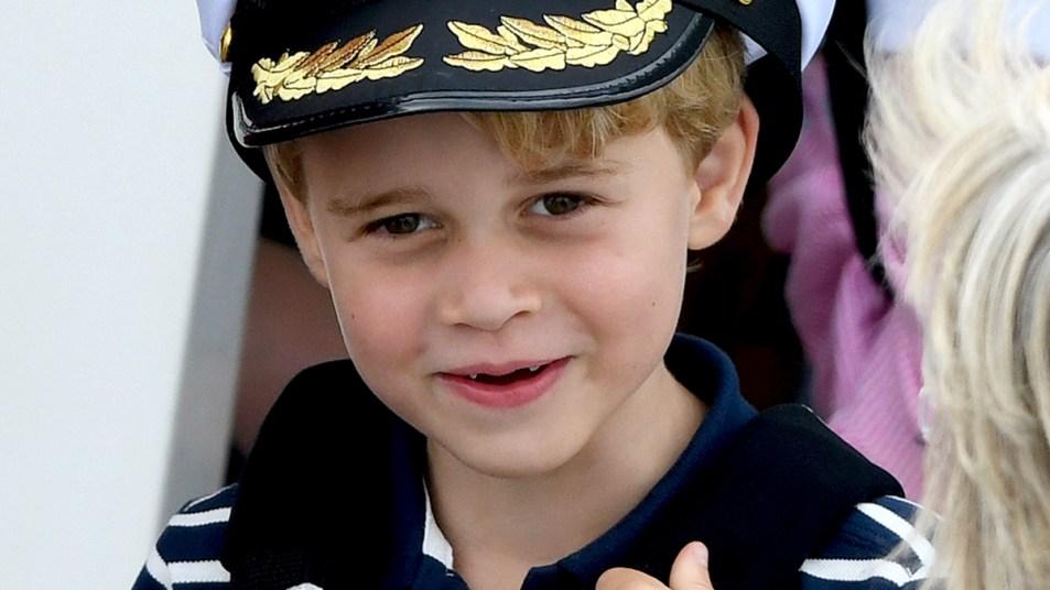 Prince George smiling