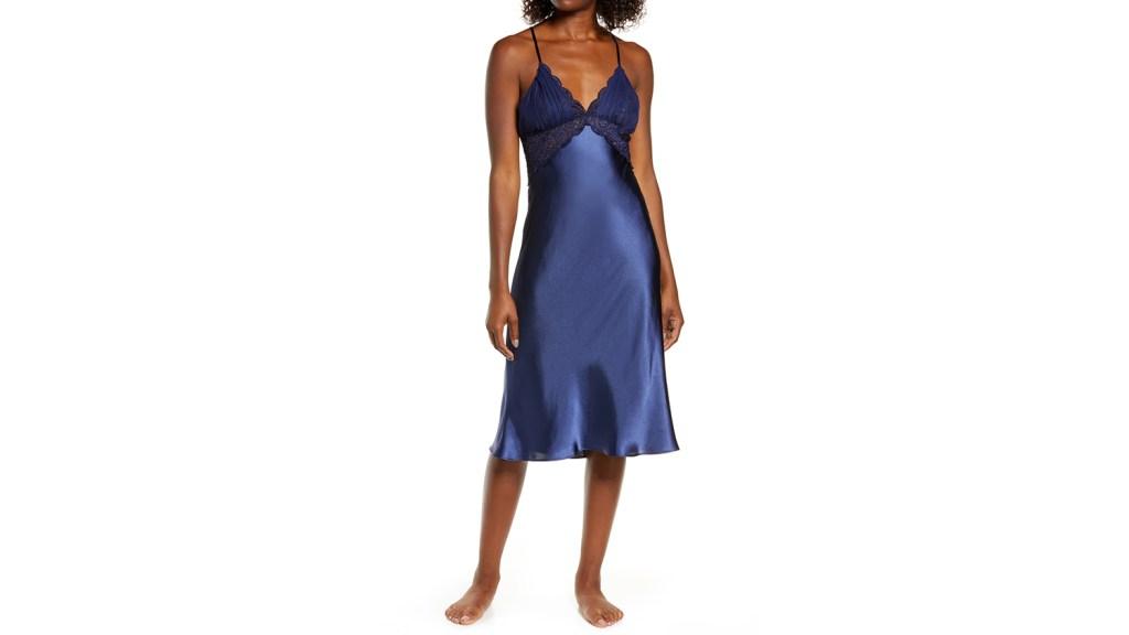 lingerie for older women satin chemise