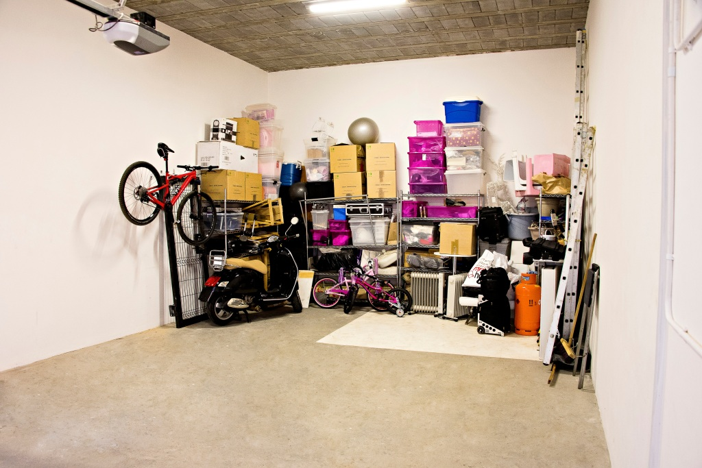 Items in storage