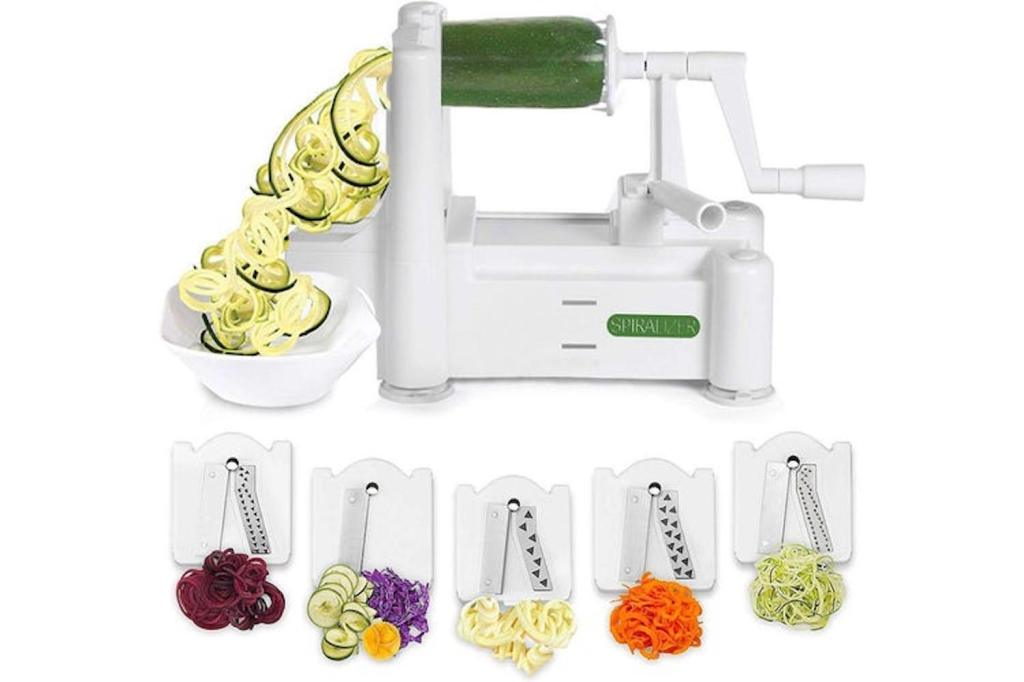 a veggie spiralizer machine