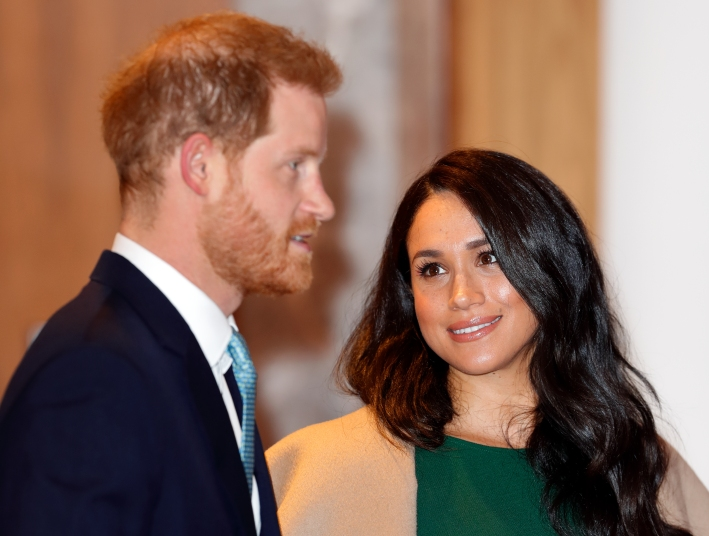 Meghan and Harry Make a Surprise VIsit to Stamford University