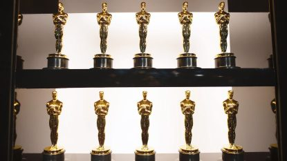 HOLLYWOOD, CALIFORNIA - FEBRUARY 09: In this handout photo provided by A.M.P.A.S. Oscars statuettes are on display backstage during the 92nd Annual Academy Awards at the Dolby Theatre on February 09, 2020 in Hollywood, California.