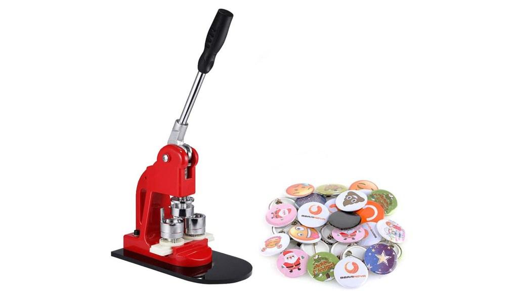button making machine