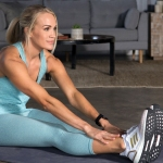 Carrie Underwood working out