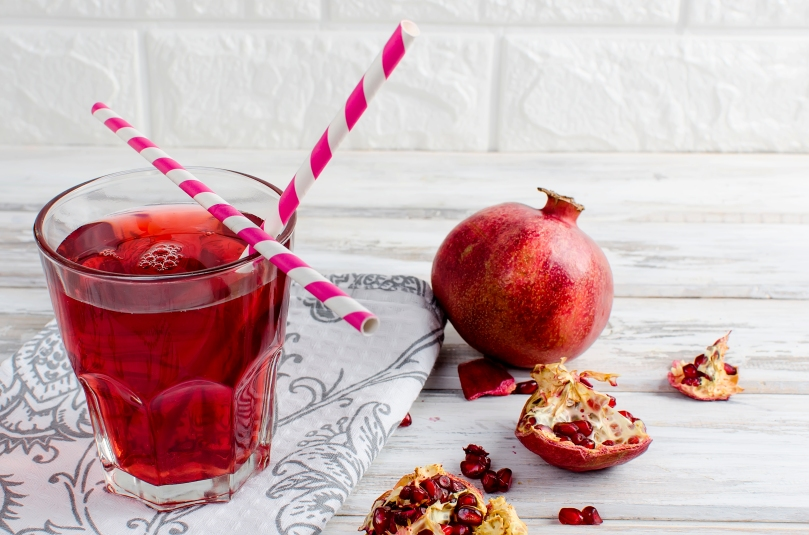 pomegranate juice helps prevent cervical cancer