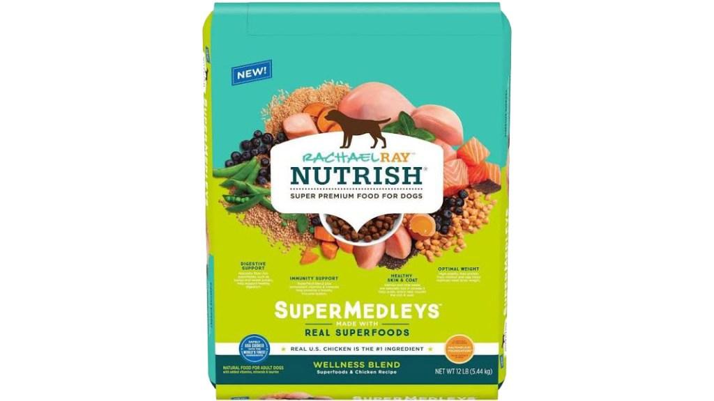 Rachael Ray nutrish supermedley dog food