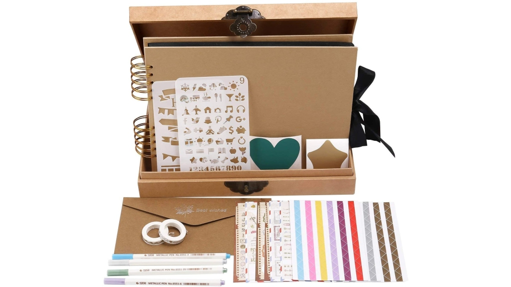 scrapbook photo album kit