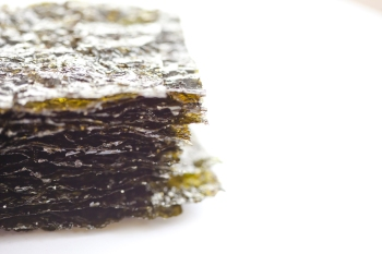 Stack of roasted seaweed