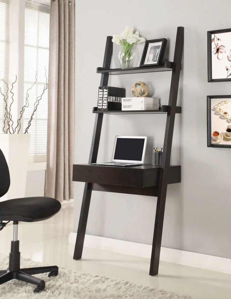 Vertical wall desk