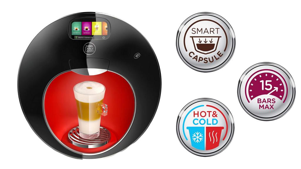 NESCAFÉ Dolce Gusto Coffee Machine, Majesto, Espresso, Cappuccino and Latte Pod Machine