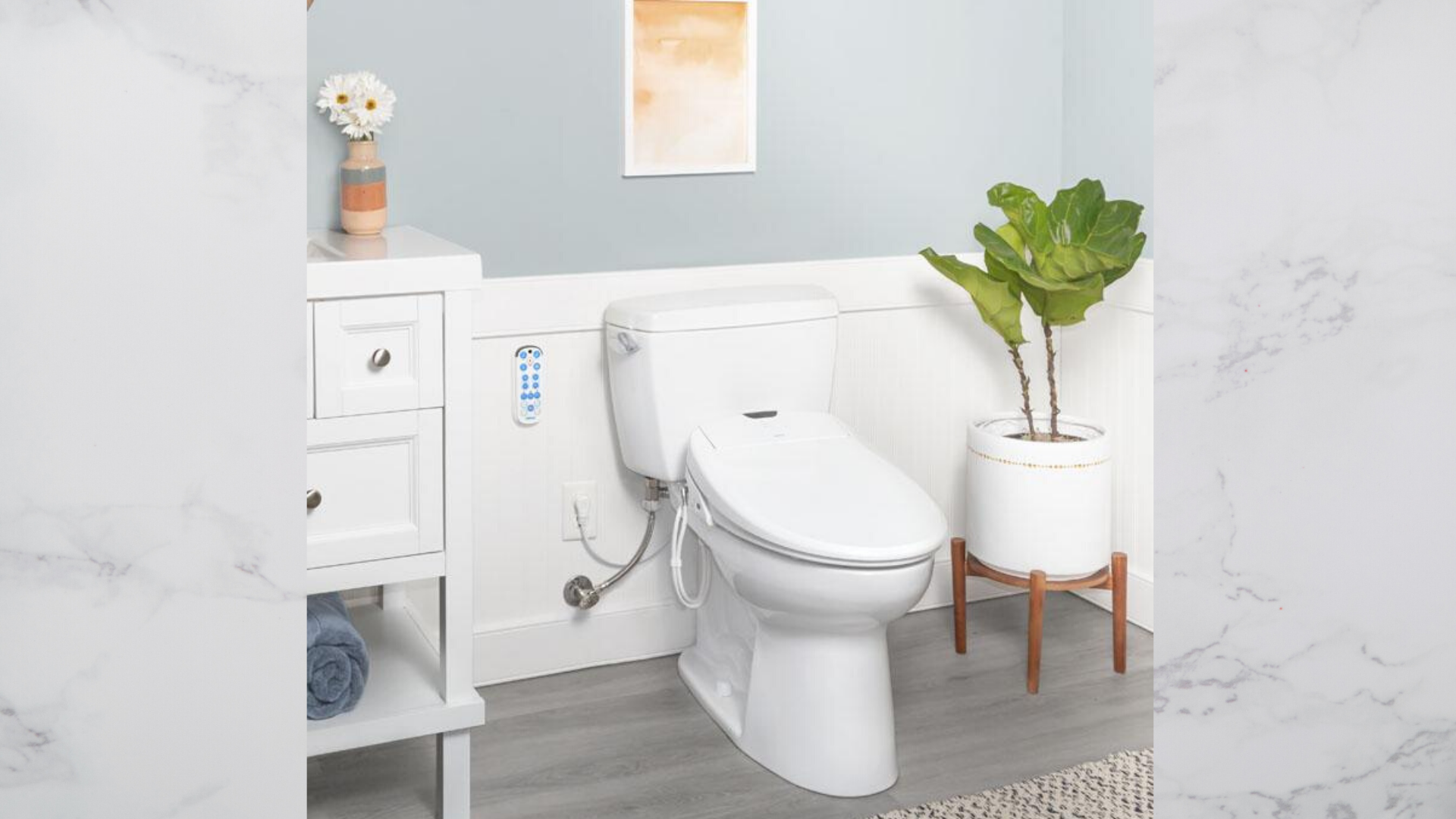 This Bidet Toilet Seat Will Change How You Use The Bathroom Forever
