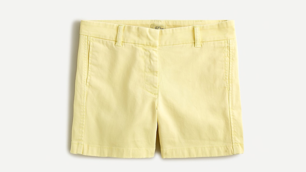 J Crew shorts for women over 50