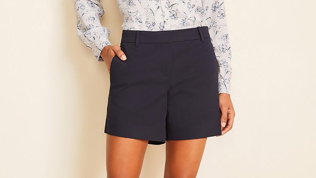 city shorts for women over 50