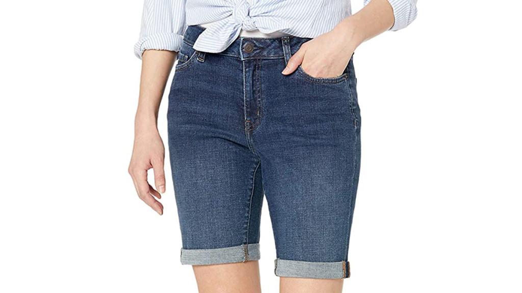 denim shorts for women over 50