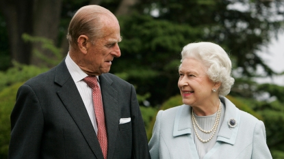 Prince Philip and Queen Elizabeth