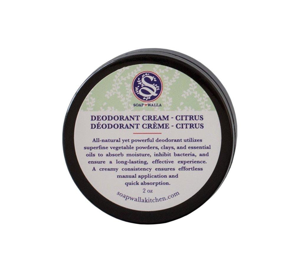 Soapwalla Organic/Vegan Deodorant Cream