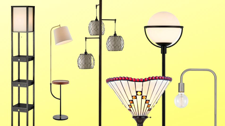 tall floor lamps