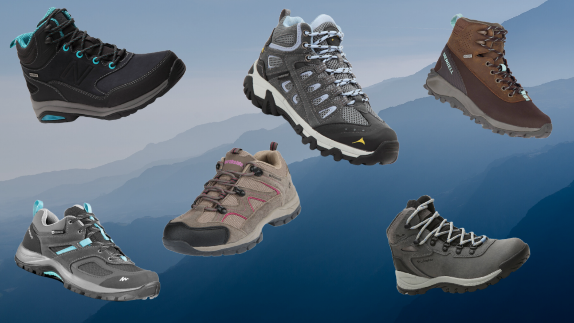 Waterproof Hiking Boots for Women Over