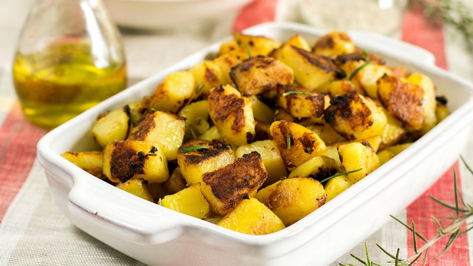 English roasted potatoes