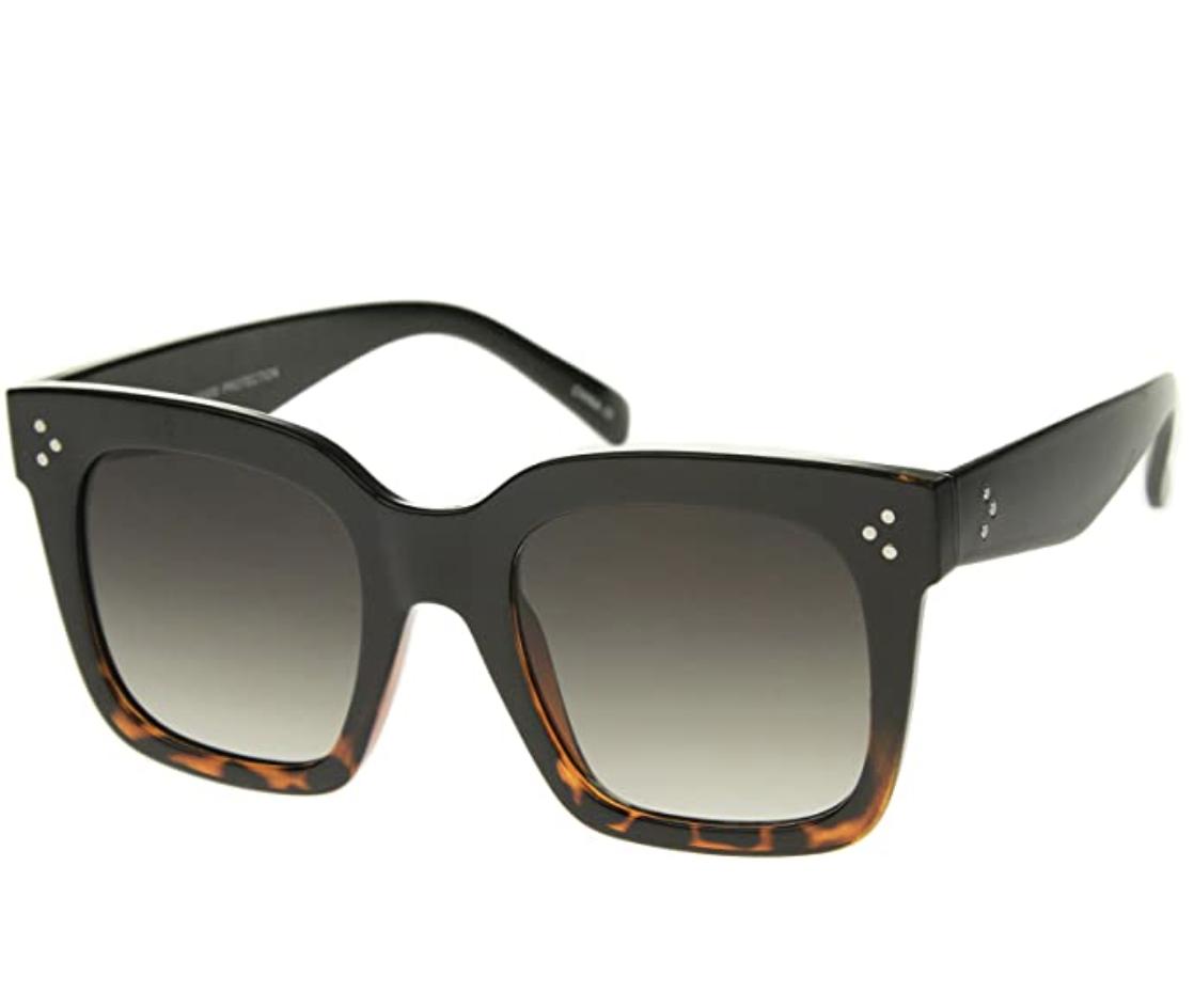oversized sunglasses for face shape