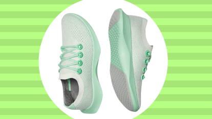 allbirds running shoes in green