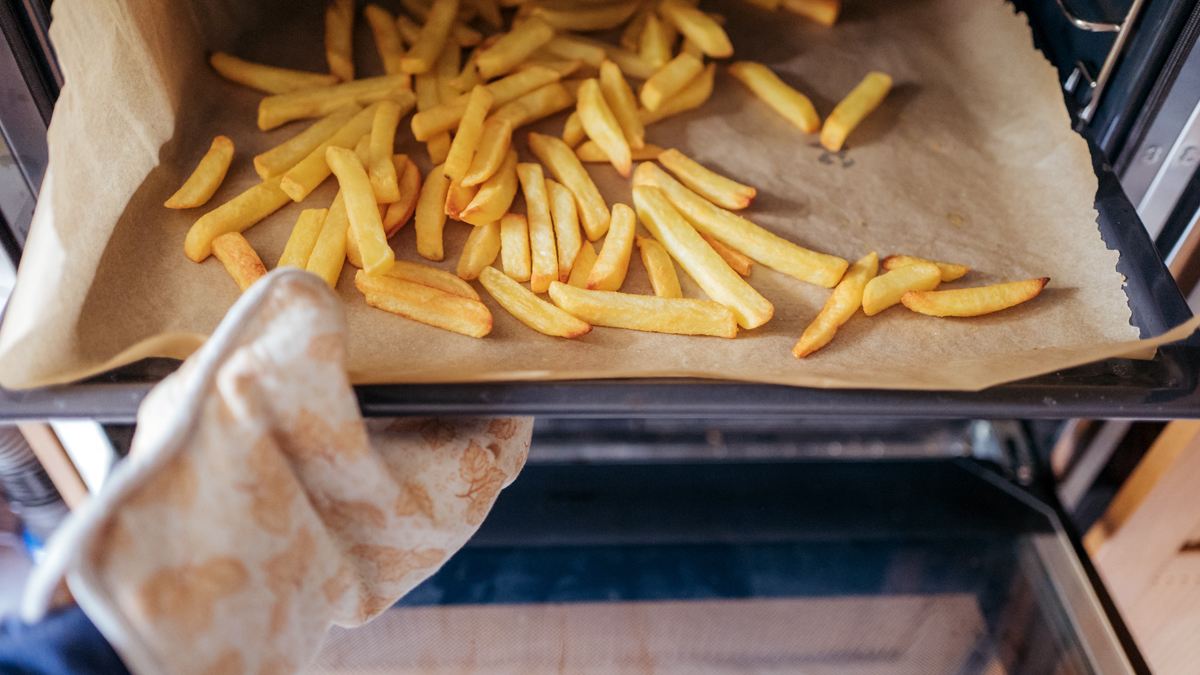 This Simple Trick for Perfectly Crispy Oven Fries Will Make You Say Goodbye to Drive-Thru's