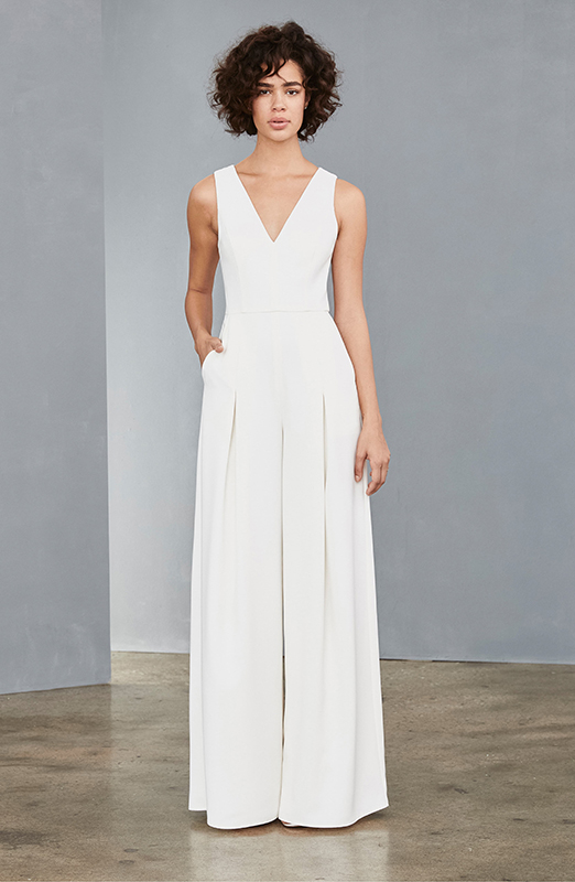 wedding dress jumpsuit