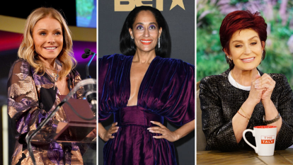 Kelly Ripa, Tracee Ellis Ross, and Sharon Osbourne
