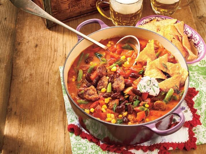 chunky chili con carne