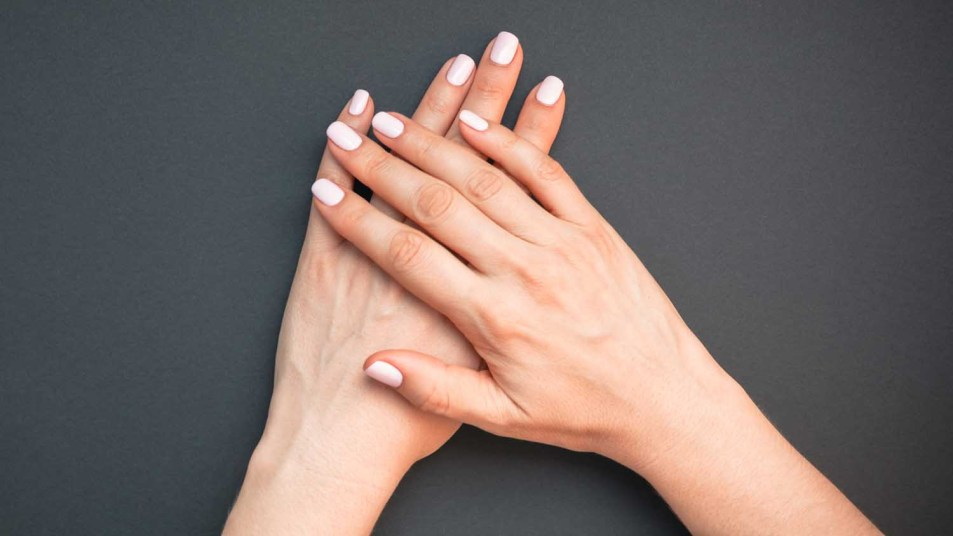 woman's beautifully manicured hands