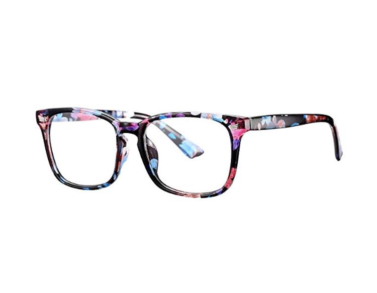 patterned eyeglass frames