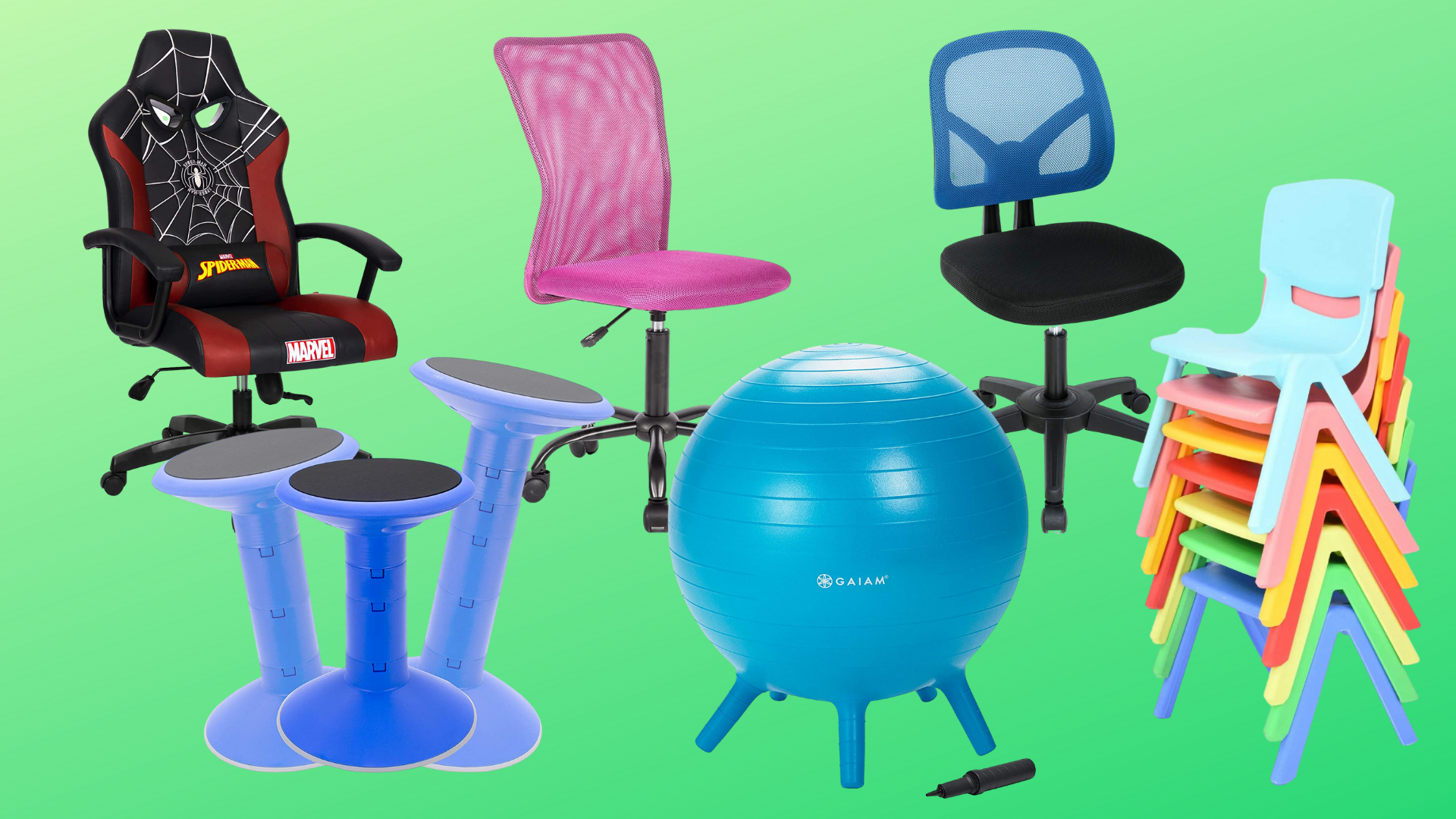 Image of: How To Choose The Best Kids Desk Chair For Focused Home Learning