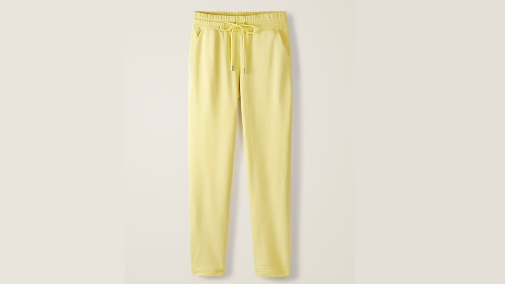 yellow boden jogging pants