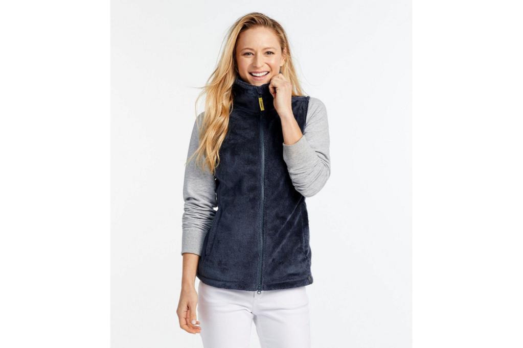 fleece workout vest