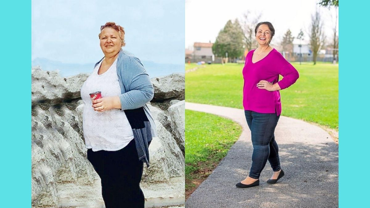 How Mina Viscardi Johnson Lost TK Pounds - First For Women