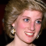 Princess Diana smiling