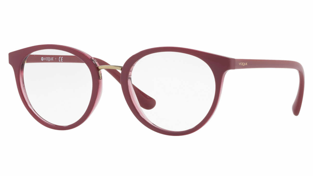 vogue round eyeglass frames